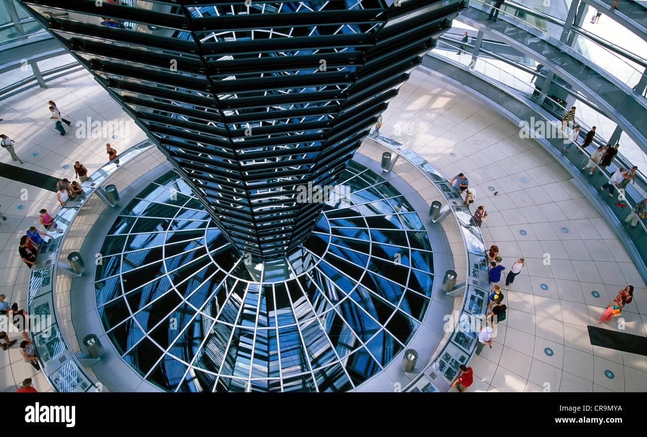 Europe Germany Berlin Reichstag Tiergarten - Stock Image