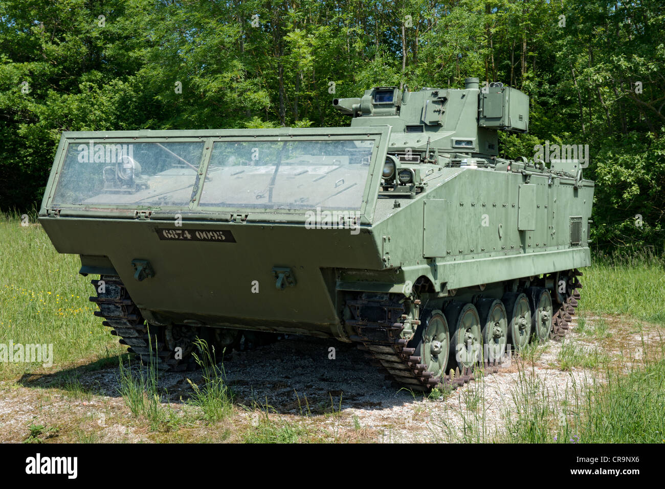 French AMX-10P APC armoured personnel carrier - Stock Image
