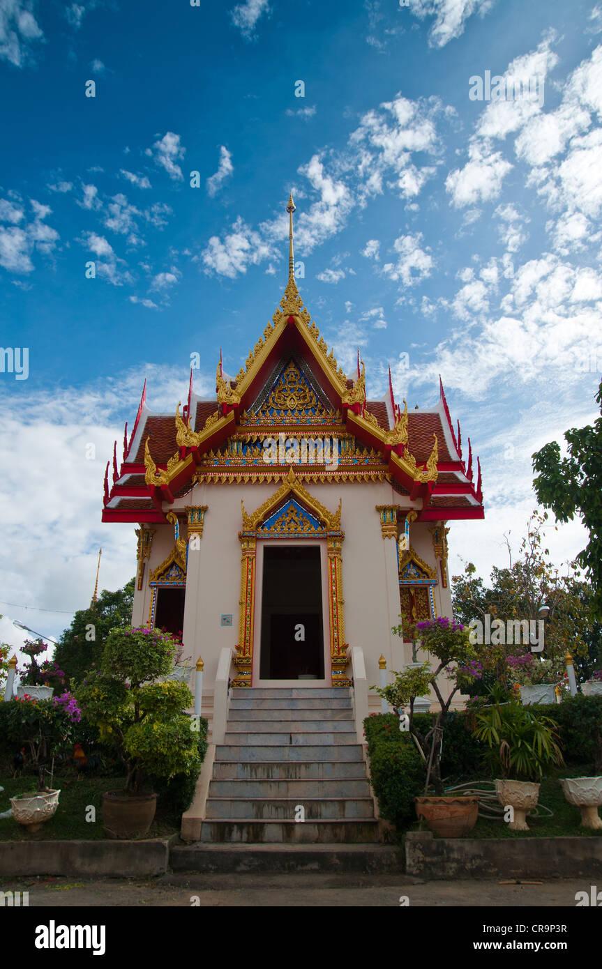 Wat Karon Buddhist Temple in Phuket, Thailand - Stock Image