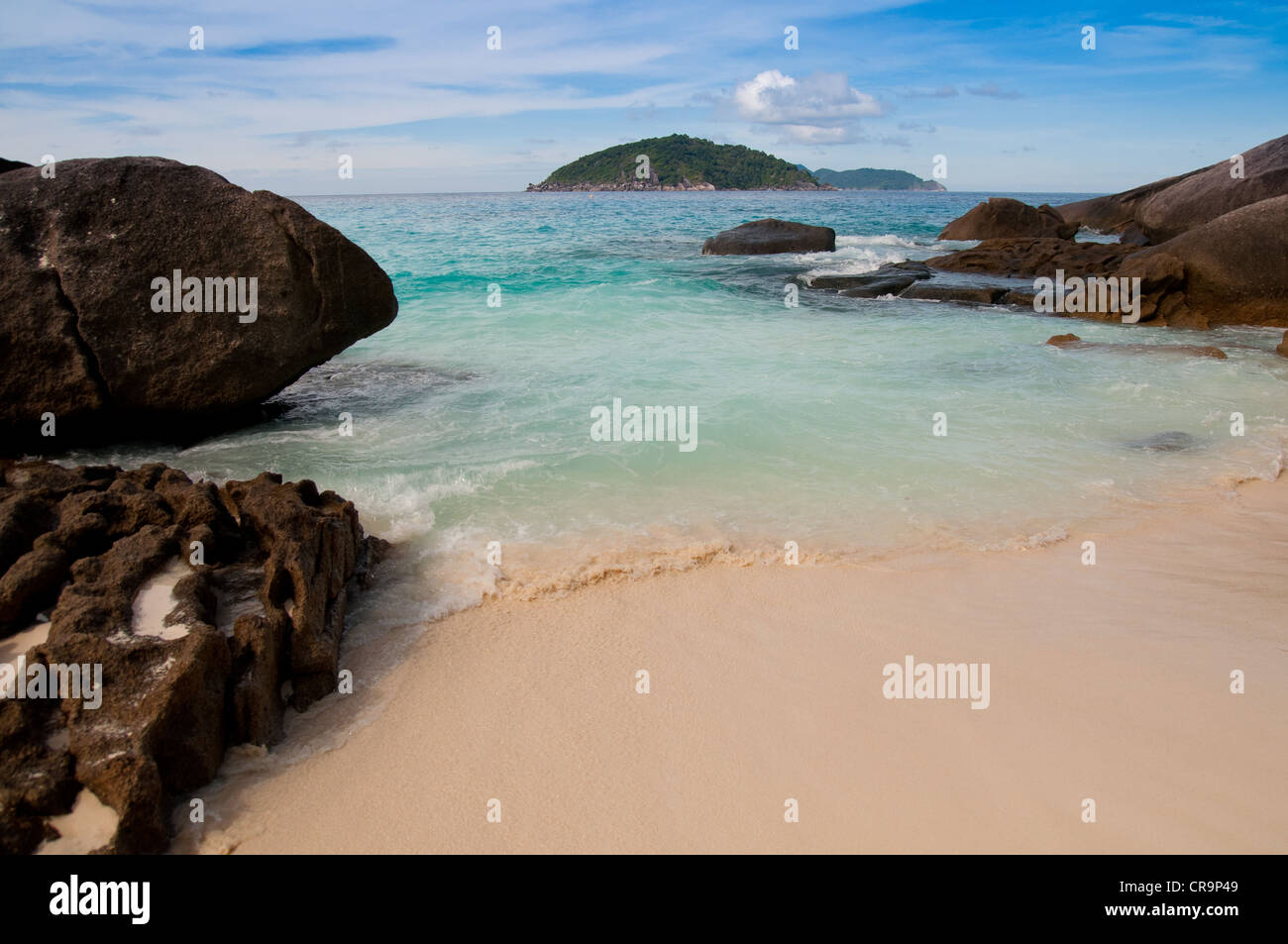 Ko Bangu beach, Similan islands - Stock Image