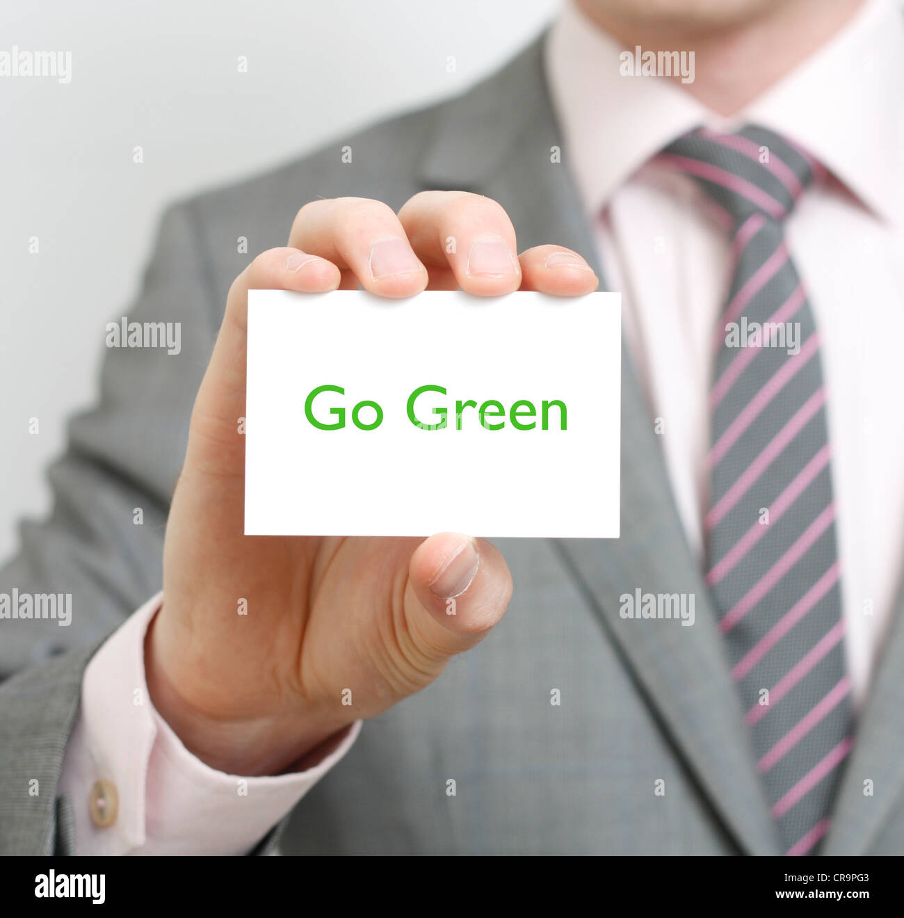 Go green - Stock Image