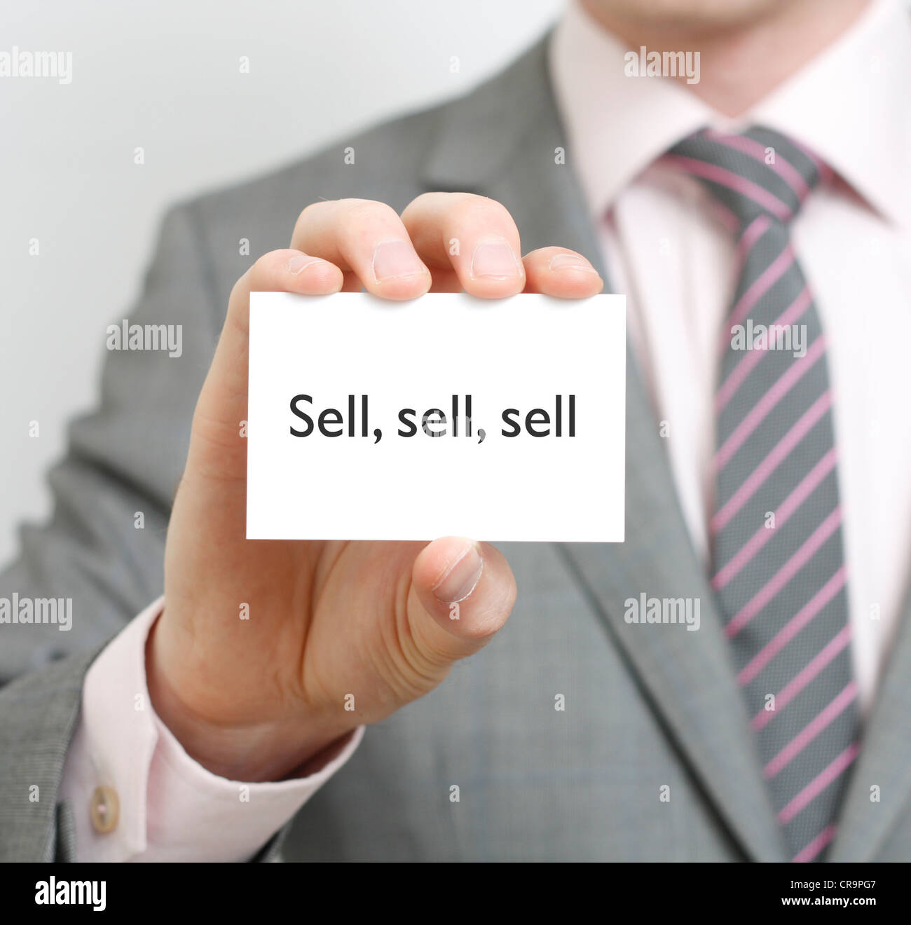 Sell - Stock Image