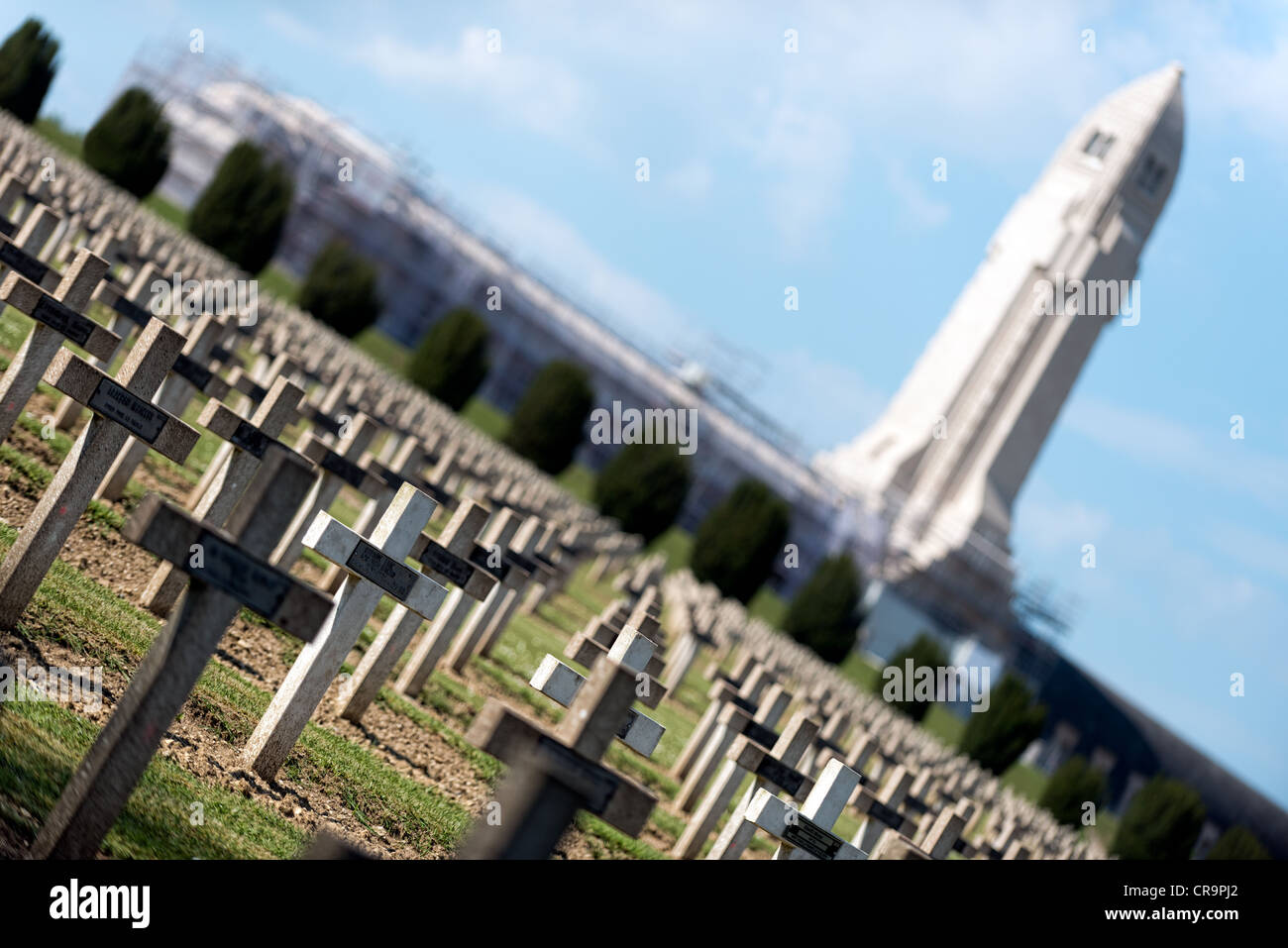 Ossuary at Verdun - Stock Image