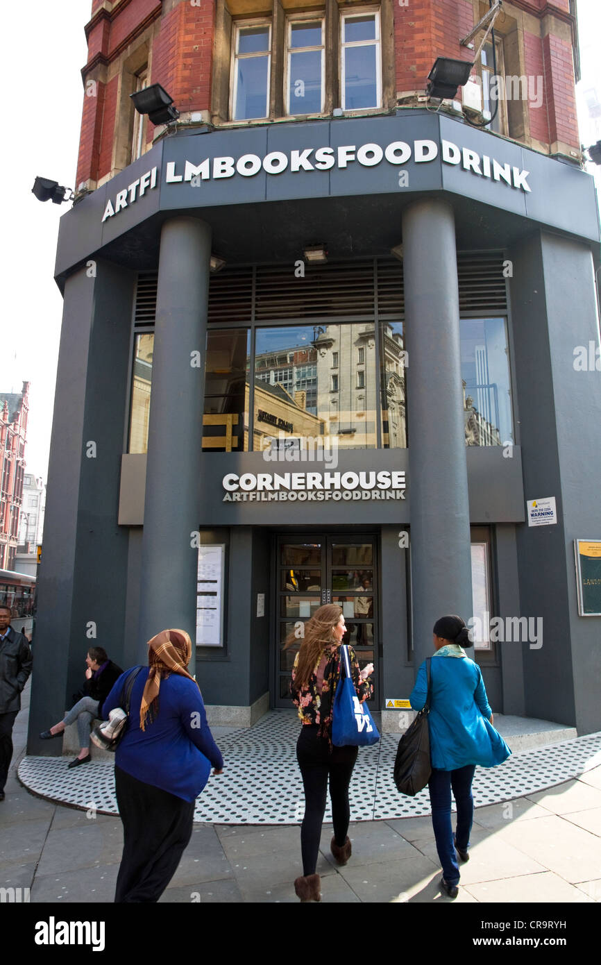 Cornerhouse - centre for contemporary visual arts and independent film, Oxford Road, city centre, Manchester, England, - Stock Image