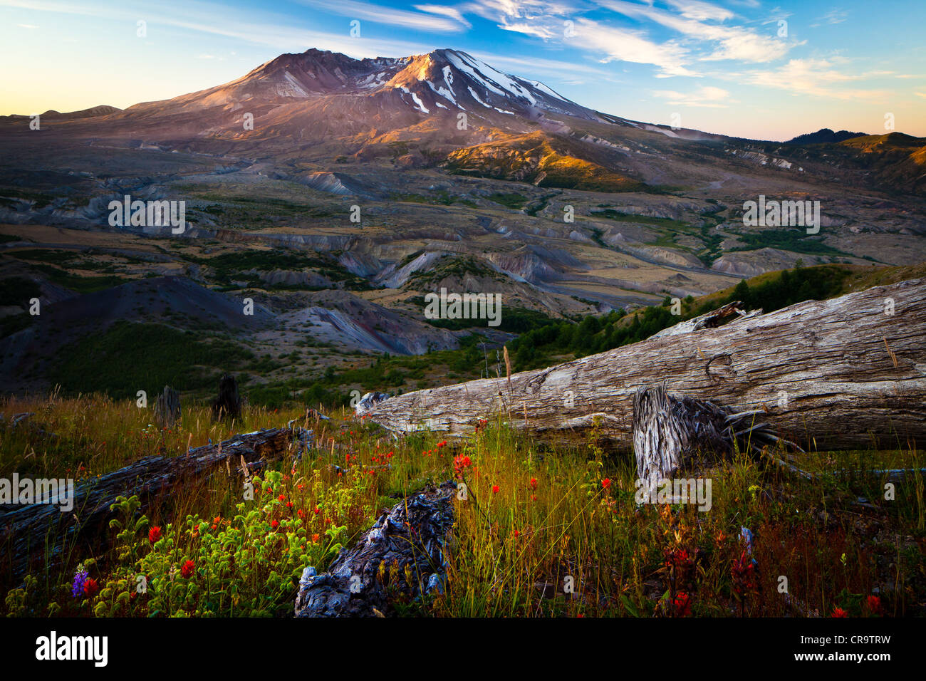 Mount St. Helens National Volcanic Monument - Stock Image