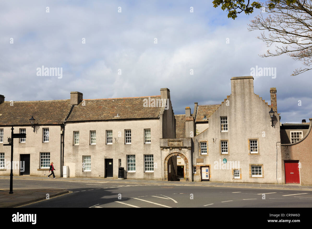 Orkney Museum in 16th century Tankerness House in Broad Street, Kirkwall, Orkney Islands, Scotland, UK. - Stock Image