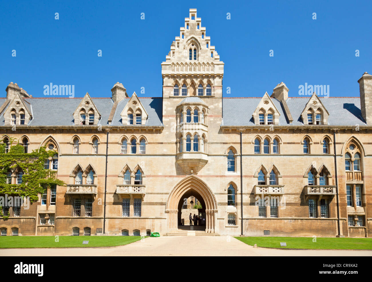 Christ Church college Meadow building Oxford University Oxfordshire England UK GB EU Europe - Stock Image