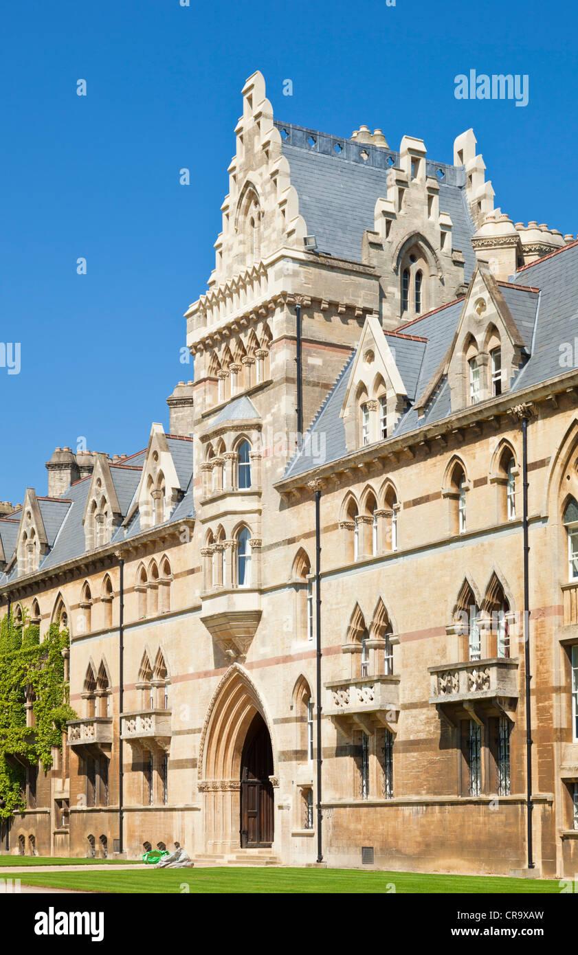 Christ Church college Meadow building Oxford University Oxfordshire England UK GB EU Europe - Stock Image