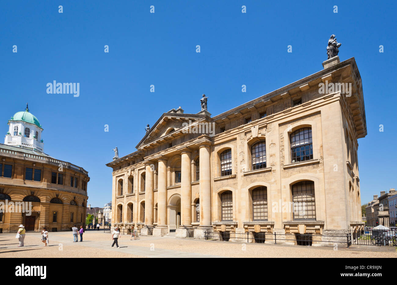 New Bodleian Library Oxford Oxfordshire England UK GB EU Europe - Stock Image