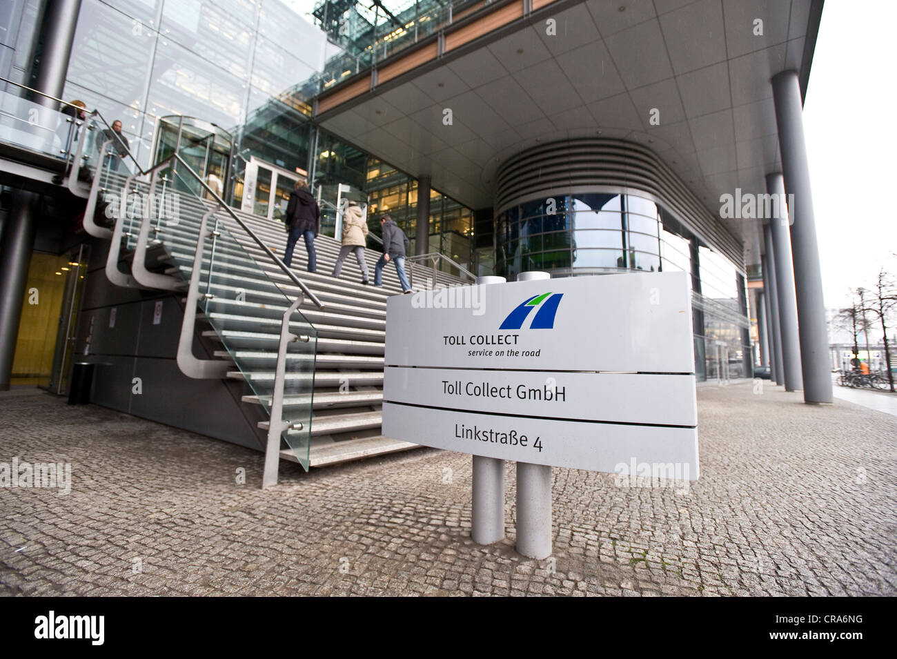 Toll Collect GmbH headquarters, Berlin, Germany, Europe - Stock Image