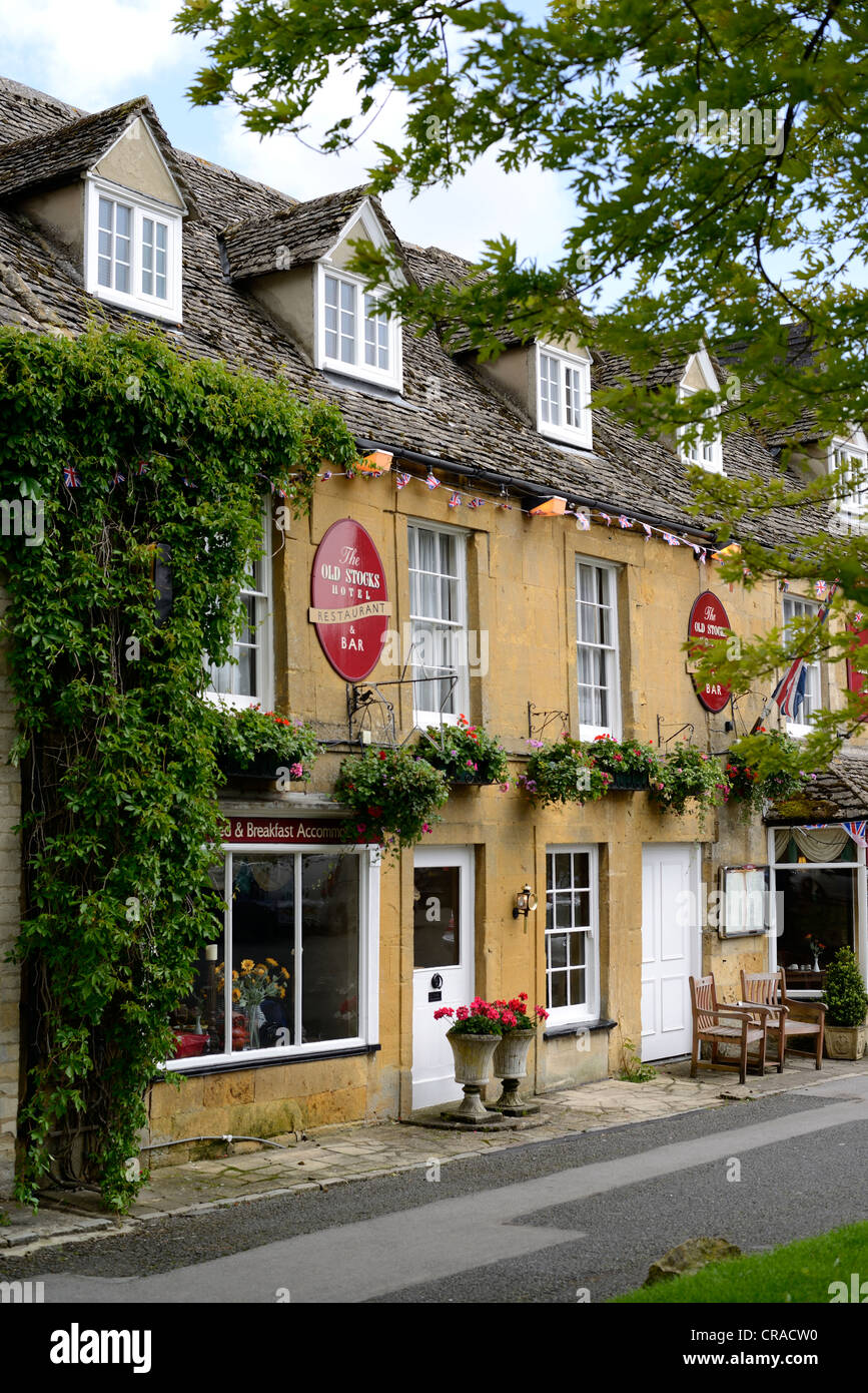 Stow On The Wold , Cotswold , England Stock Photo