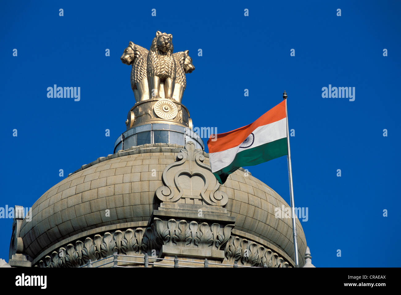 Lion capital national emblem of india state parliament house stock lion capital national emblem of india state parliament house bangalore karnataka south india india asia biocorpaavc Image collections
