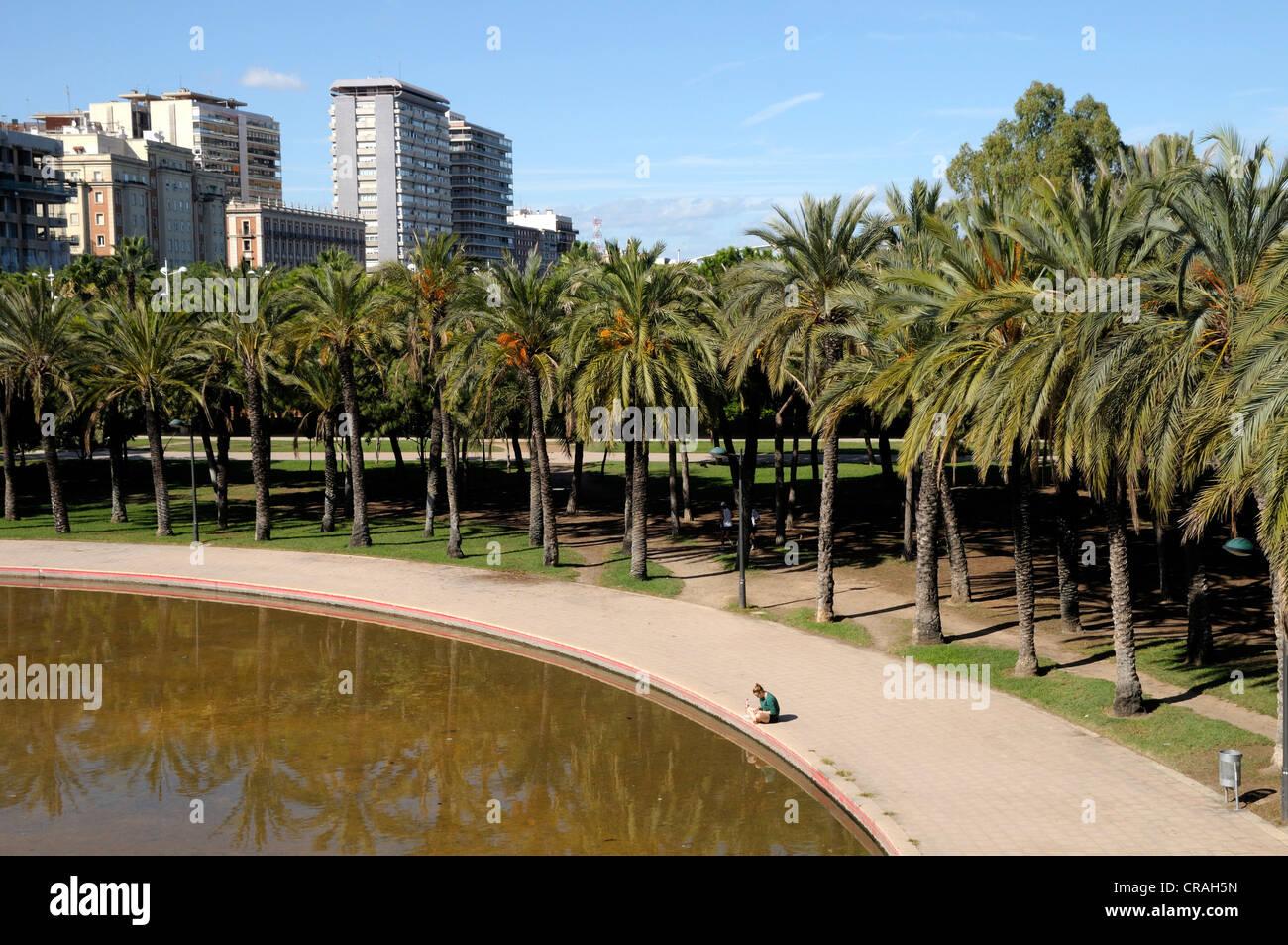 Turia park stock photos turia park stock images alamy for Jardines de tabarca valencia