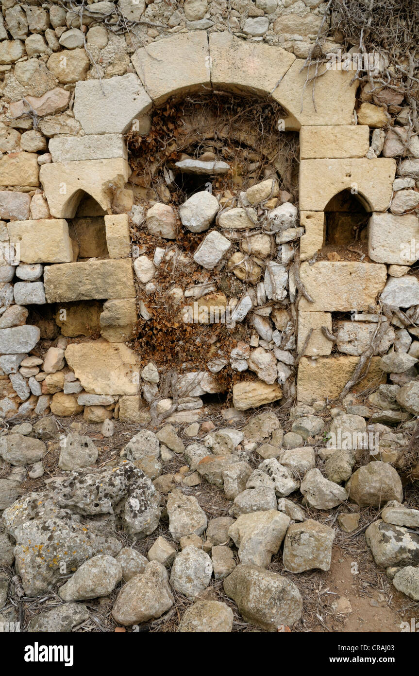 Residential property from the 17th Century, historical site, Torralba d'en Salort, Menorca, Balearen, Spanien, - Stock Image