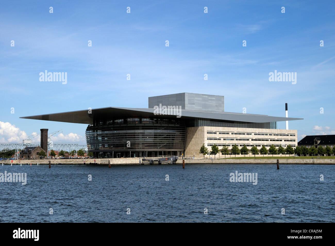 Operaen or Copenhagen Opera House, Copenhagen, Denmark, Scandinavia, Europe, PublicGround Stock Photo