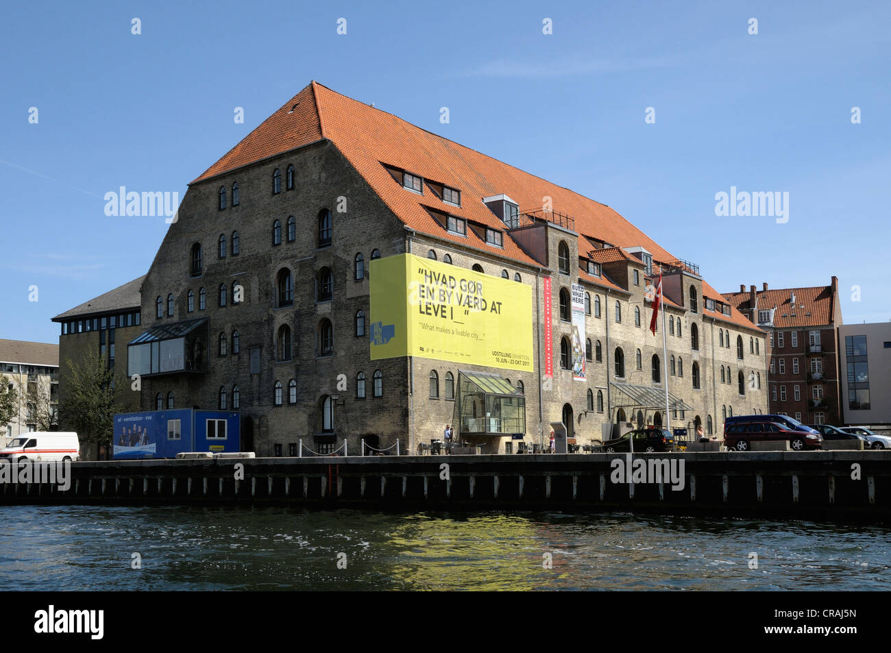 Dansk Arkitektur Center or Danish Architecture Center, Copenhagen, Denmark, Scandinavia, Europe, PublicGround - Stock Image