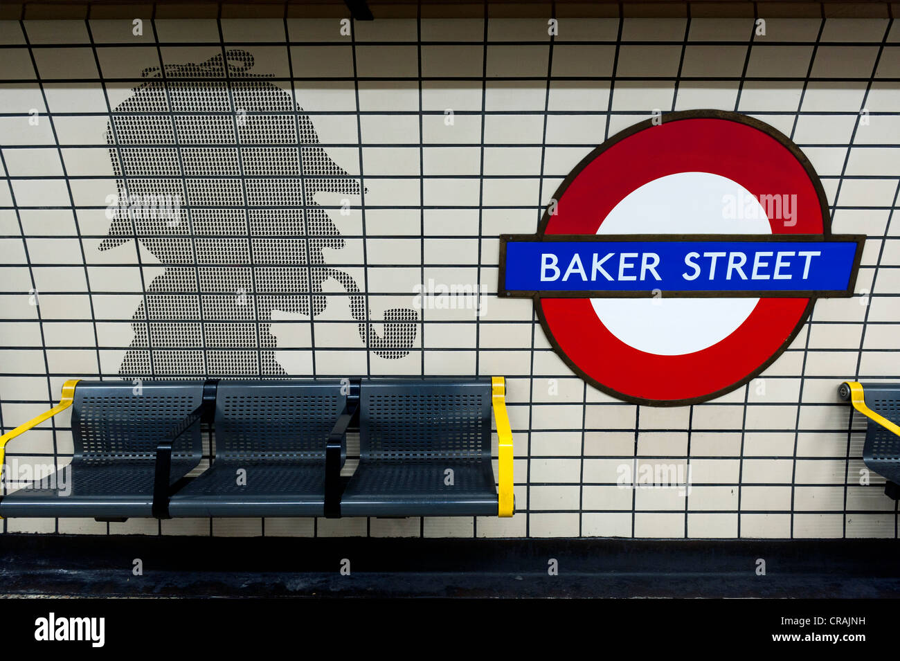 england london baker street subway stock photos england london baker street subway stock. Black Bedroom Furniture Sets. Home Design Ideas