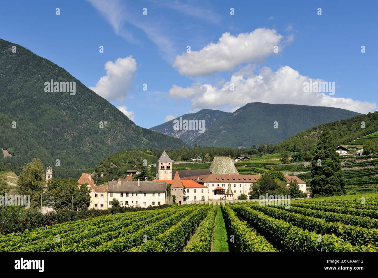Neustift Abbey, near Bressanone, Alto Adige, Bolzano Province, Italy, Europe - Stock Image