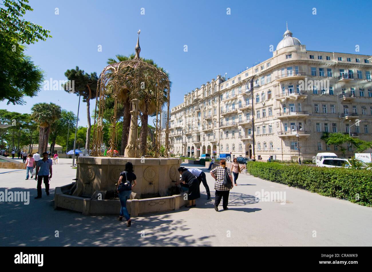 Historic old town, UNESCO World Heritage Site, Baku, Azerbaijan, Caucasus, Middle East - Stock Image