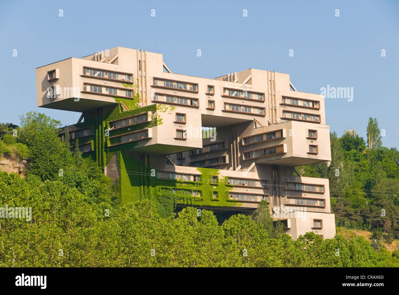 Soviet architecture, Tbilisi, Georgia, Caucasus region, Middle East - Stock Image