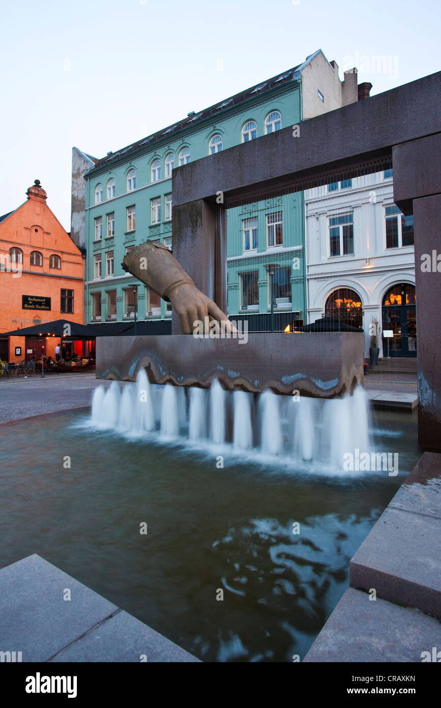 Kvadraturen in Oslo, oldest district in centre of Oslo, Norway. - Stock Image