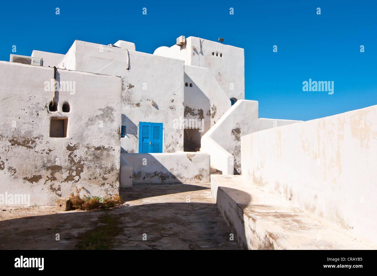 Beach resort Corne d'Or, former stronghold, Tipasa, Algeria, Africa - Stock Image