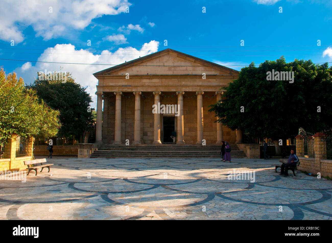Greek temple, now the mosque El Rahman, Cherchell, Algeria, Africa Stock Photo