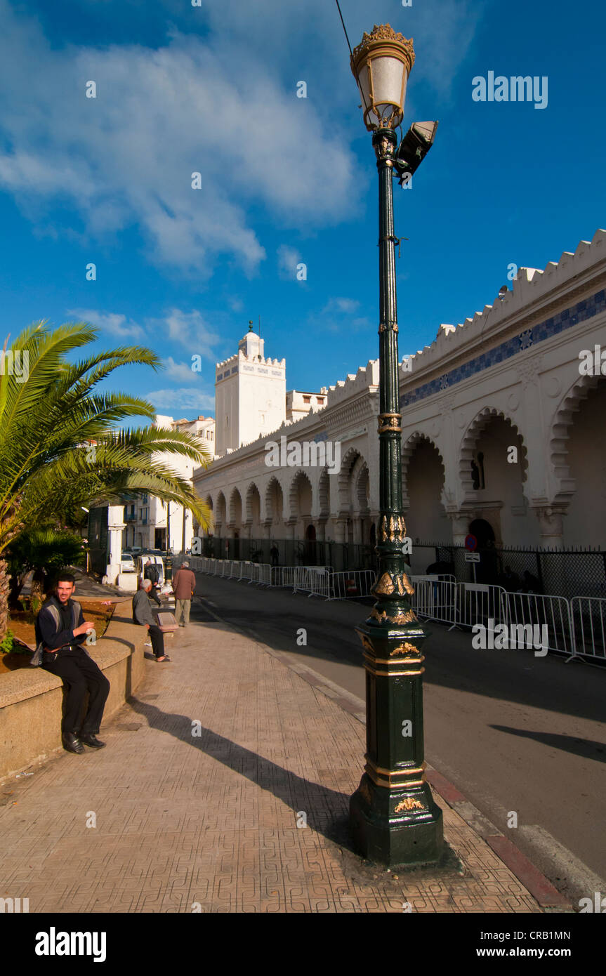 The Martyrs' Square in Algiers, Algeria, Africa - Stock Image