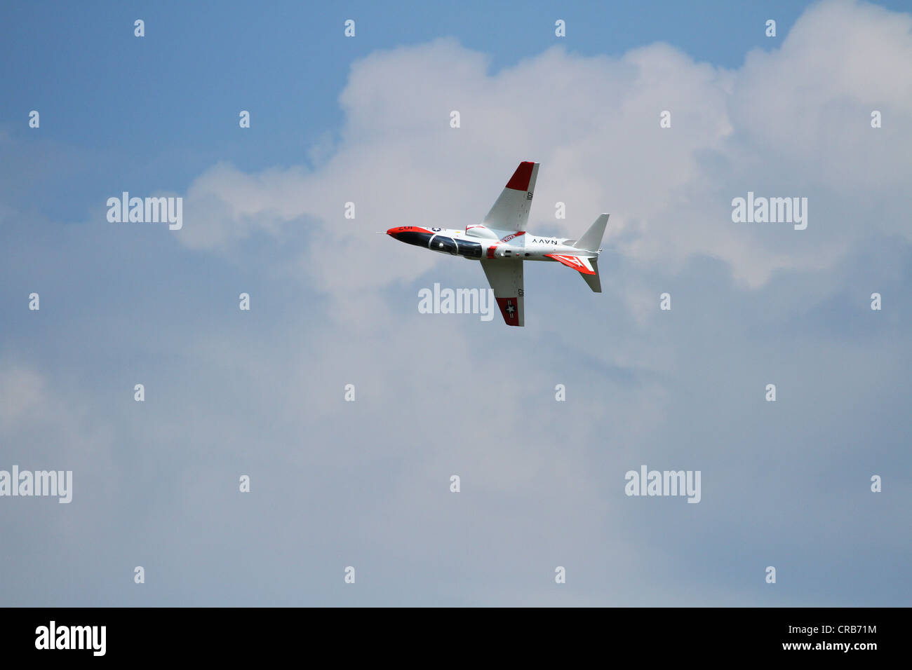 Radio Controlled Model Jet Airplane. - Stock Image