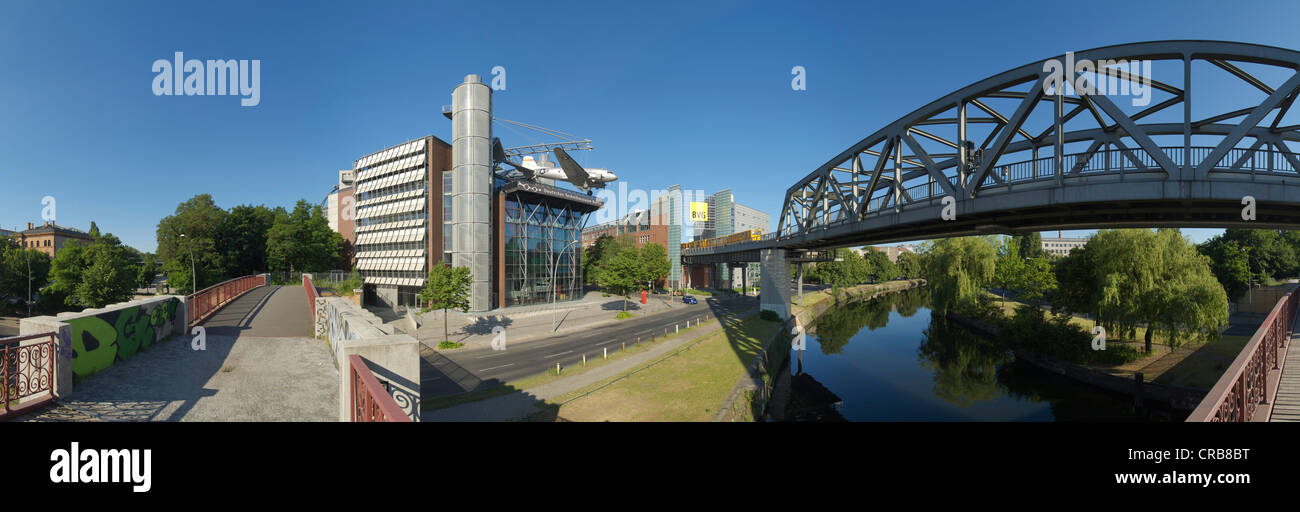 Panorama, German Museum of Technology, Berlin, Germany, Europe Stock Photo
