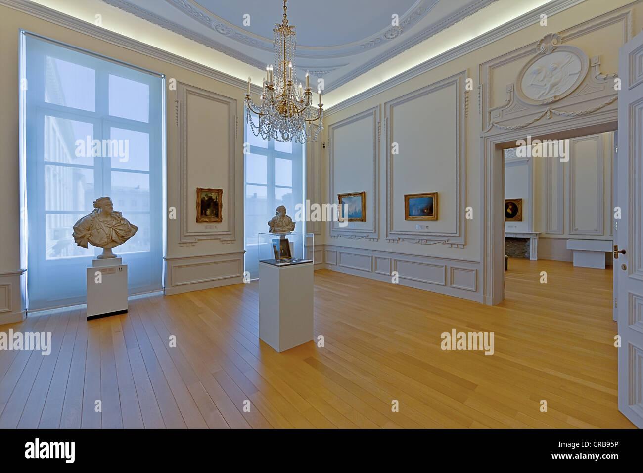 Royal Museums of Fine Arts of Belgium, Musées royaux des Beaux-Arts de Belgique, Rue du Musée, Brussels, Belgium, Stock Photo