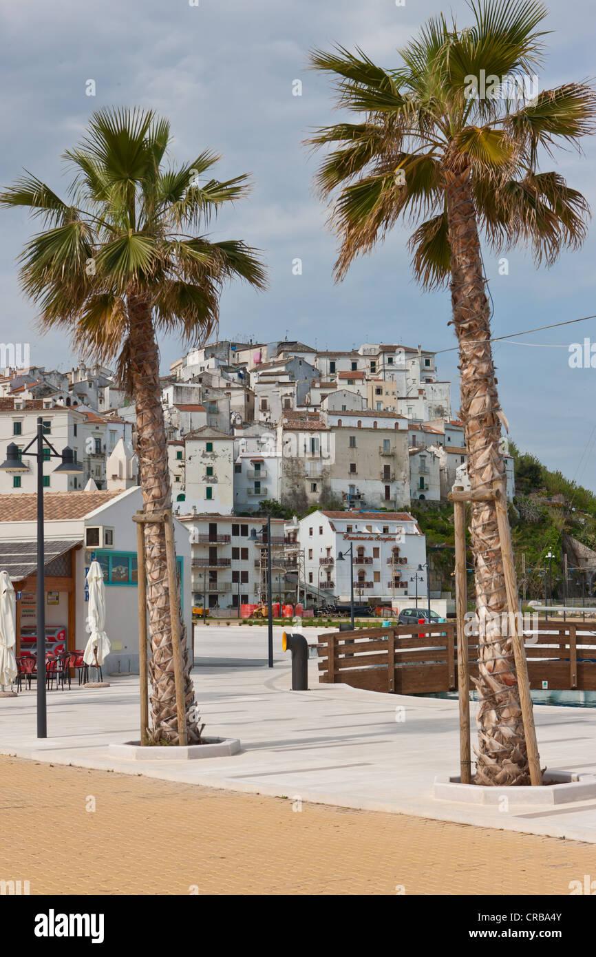 Historic town centre of Rodi Garganico, Gargano, Foggia, Apulia, Puglia, Southern Italy, Italy, Europe - Stock Image