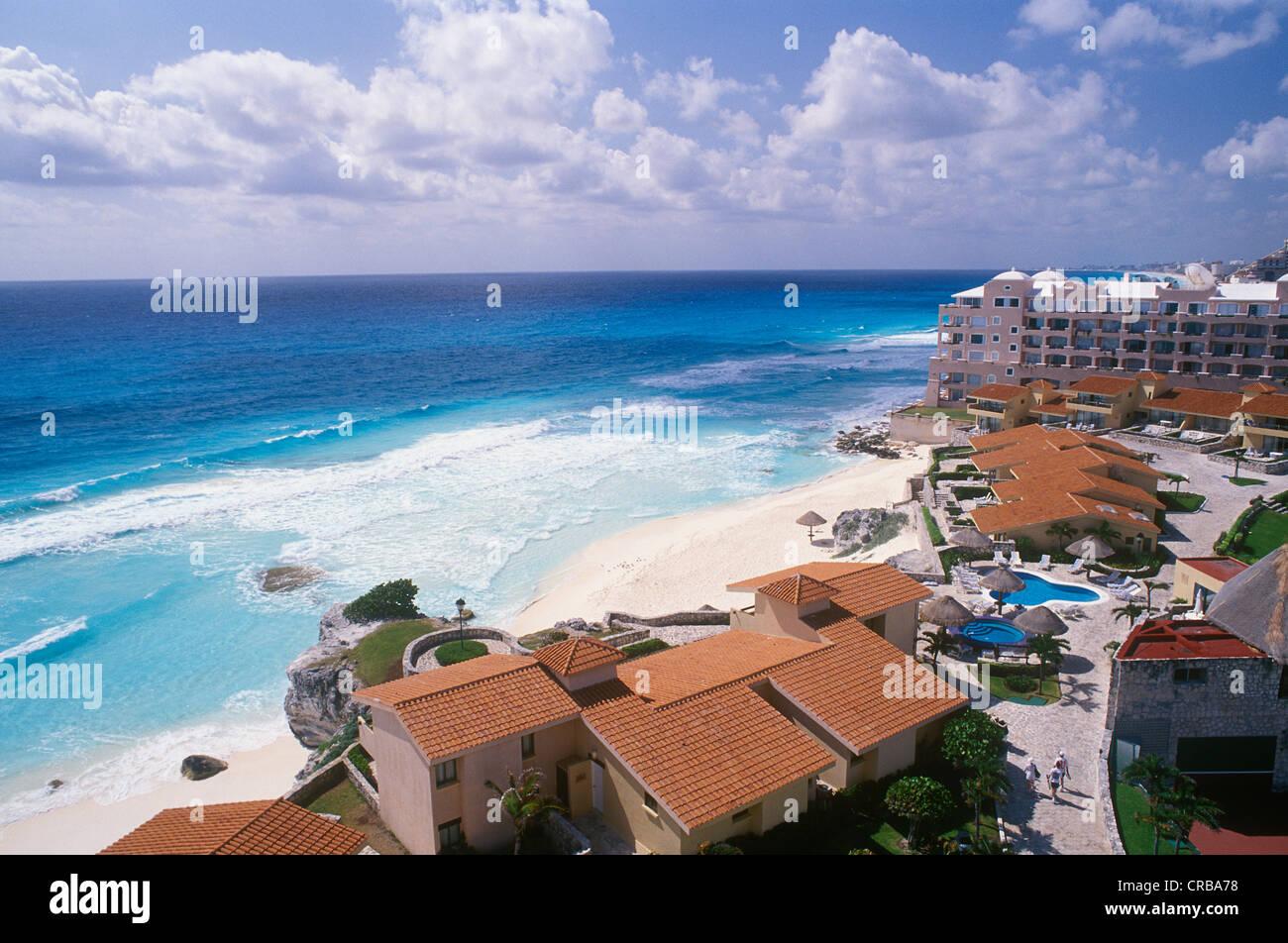 Hotel Beach Of Cancun Caribbean Quintana Roo Yucatan Peninsula