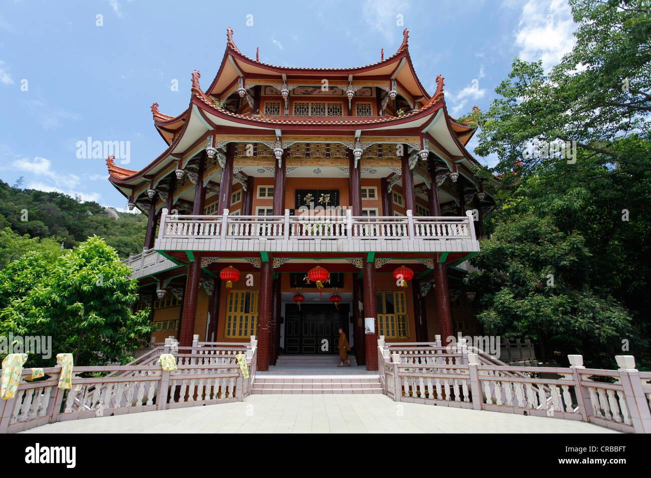 Nanputuo temple, Xiamen, also known as Amoy, Fujian province, China, Asia - Stock Image
