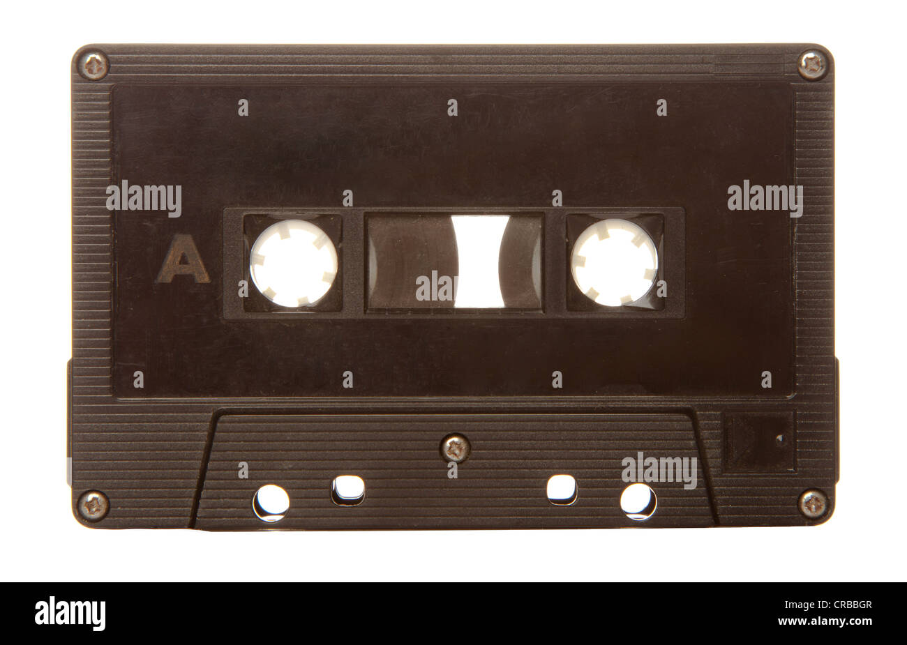 Old audio cassette tape - Stock Image