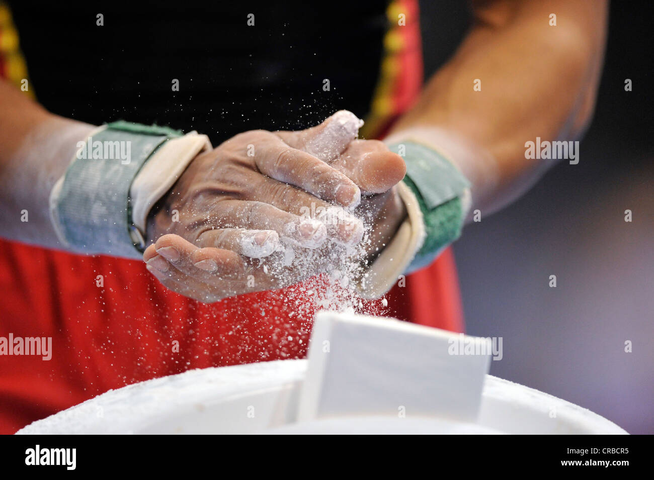 Magnesia, EnBW Gymnastics World Cup, 11 to 13 Nov 2011, 29th DTB Cup, Porsche-Arena, Stuttgart, Baden-Wuerttemberg - Stock Image