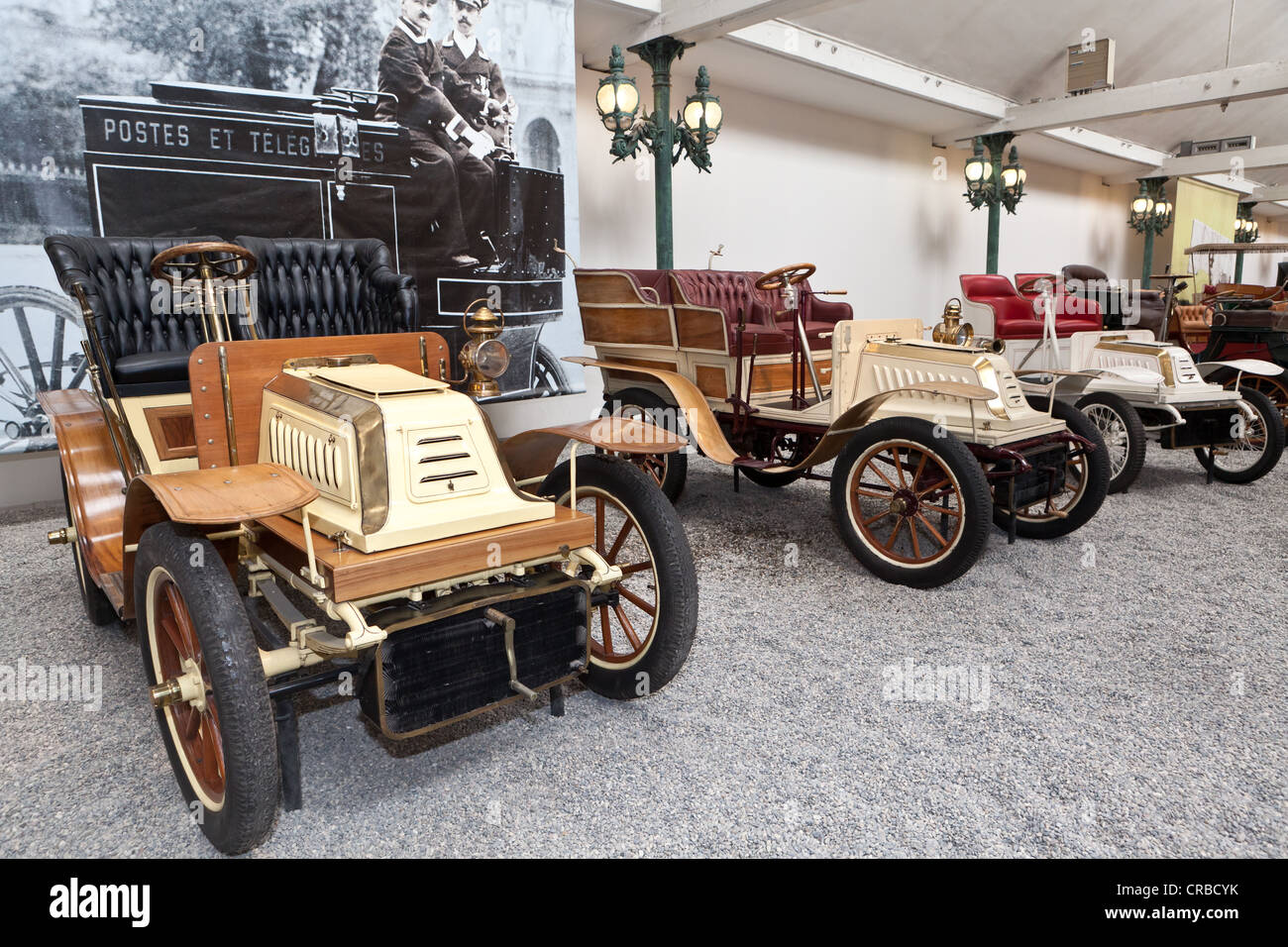 De Dion Bouton, Biplace Type S, built in 1902, France, Collection Schlumpf, Cité de l'Automobile, Musée - Stock Image