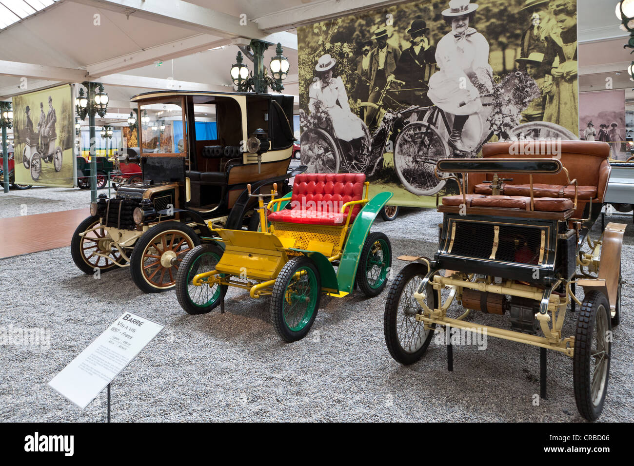Automobiles, Collection Schlumpf, Cité de l'Automobile, Musée National, National Automobile Museum, - Stock Image