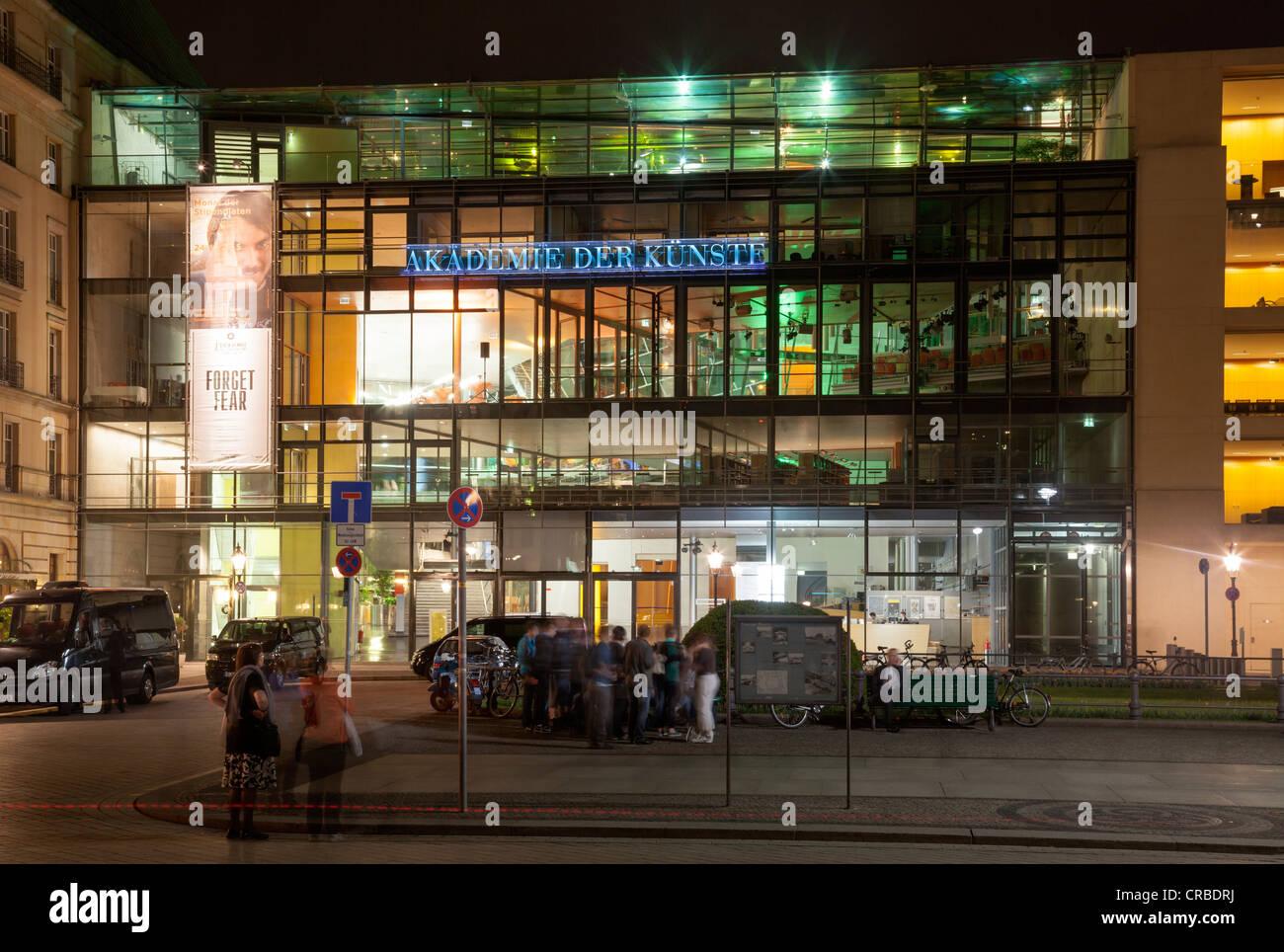 Akademie der Künste, Pariser Platz, Berlin, Germany - Stock Image
