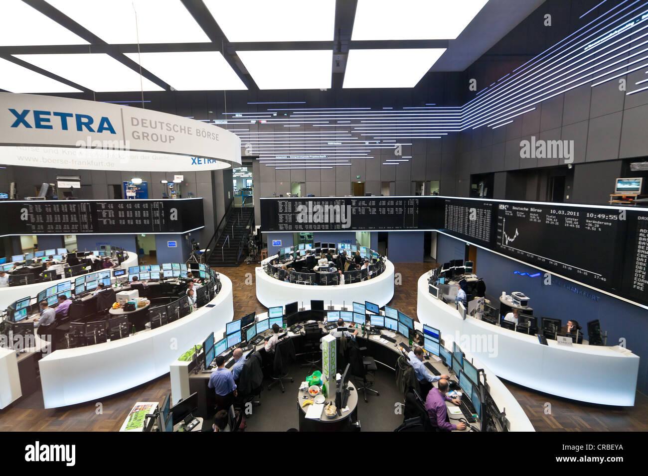 öffnung Börse Frankfurt