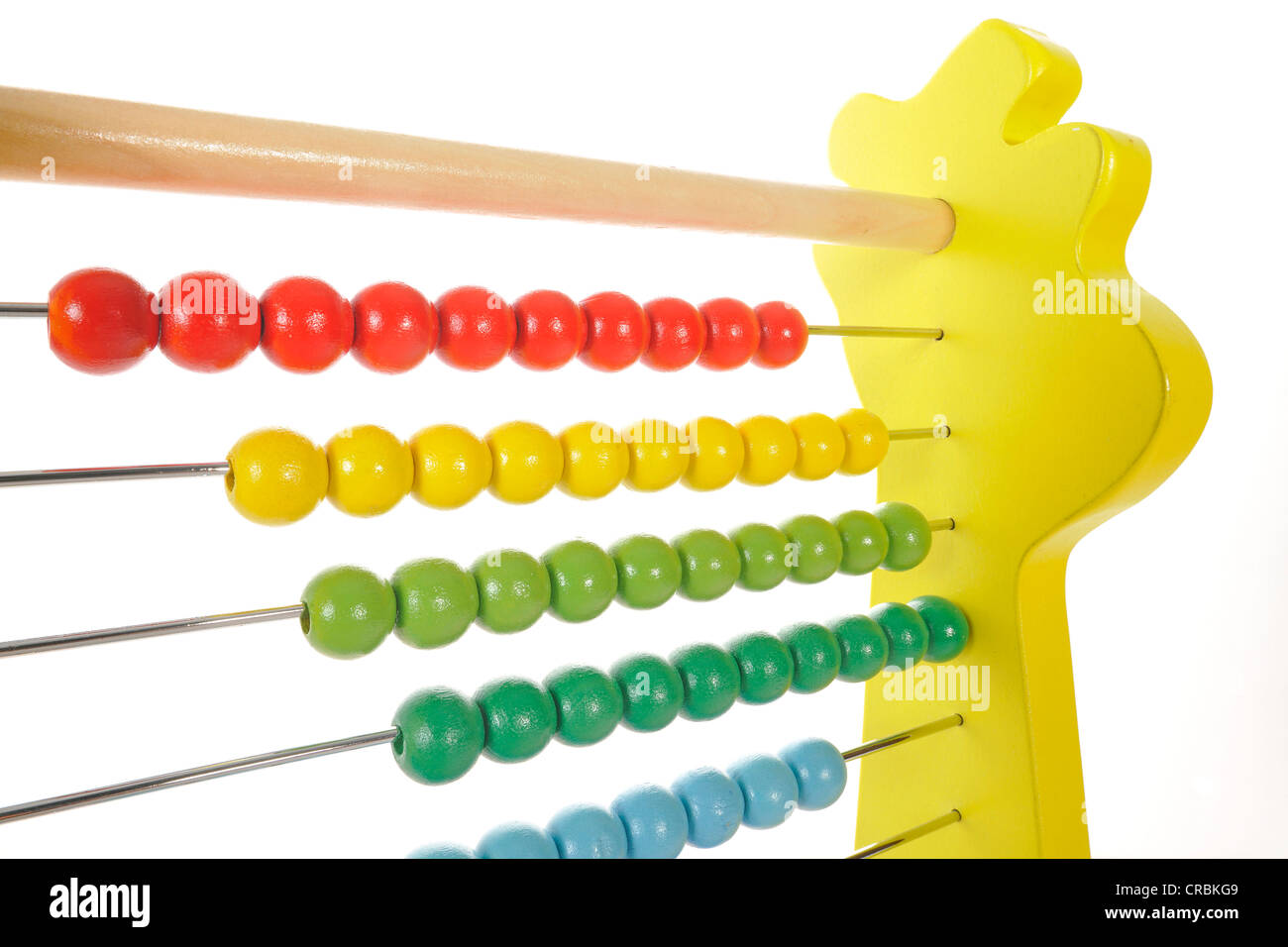 Abacus calculation tool - Stock Image
