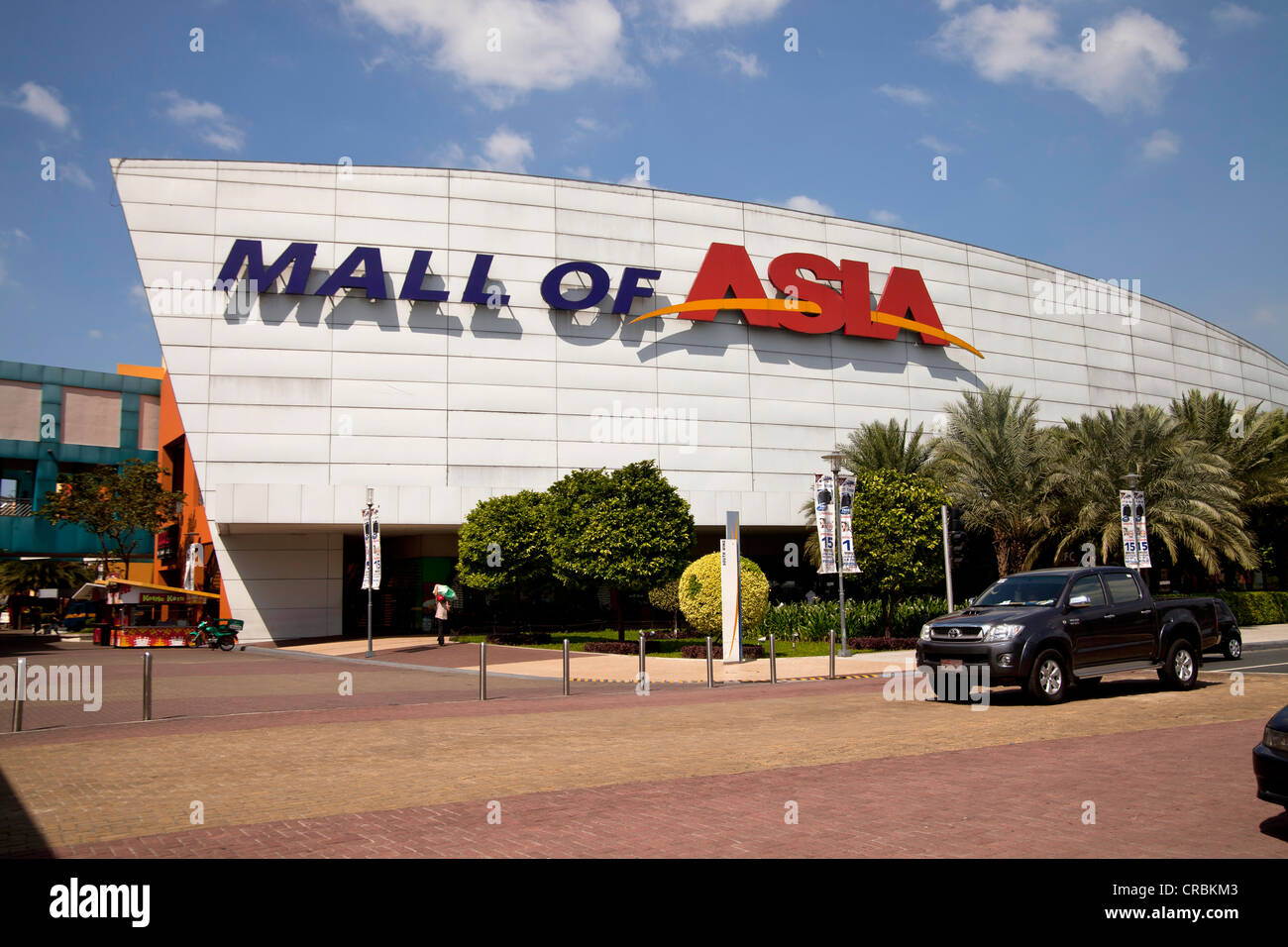 Mall of Asia shopping centre, Manila, Philippines, Asia - Stock Image