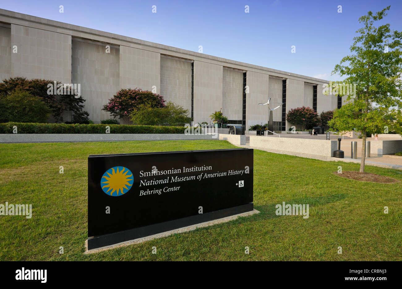 National Museum of American History, National Mall, Washington DC, District of Columbia, United States of America, - Stock Image