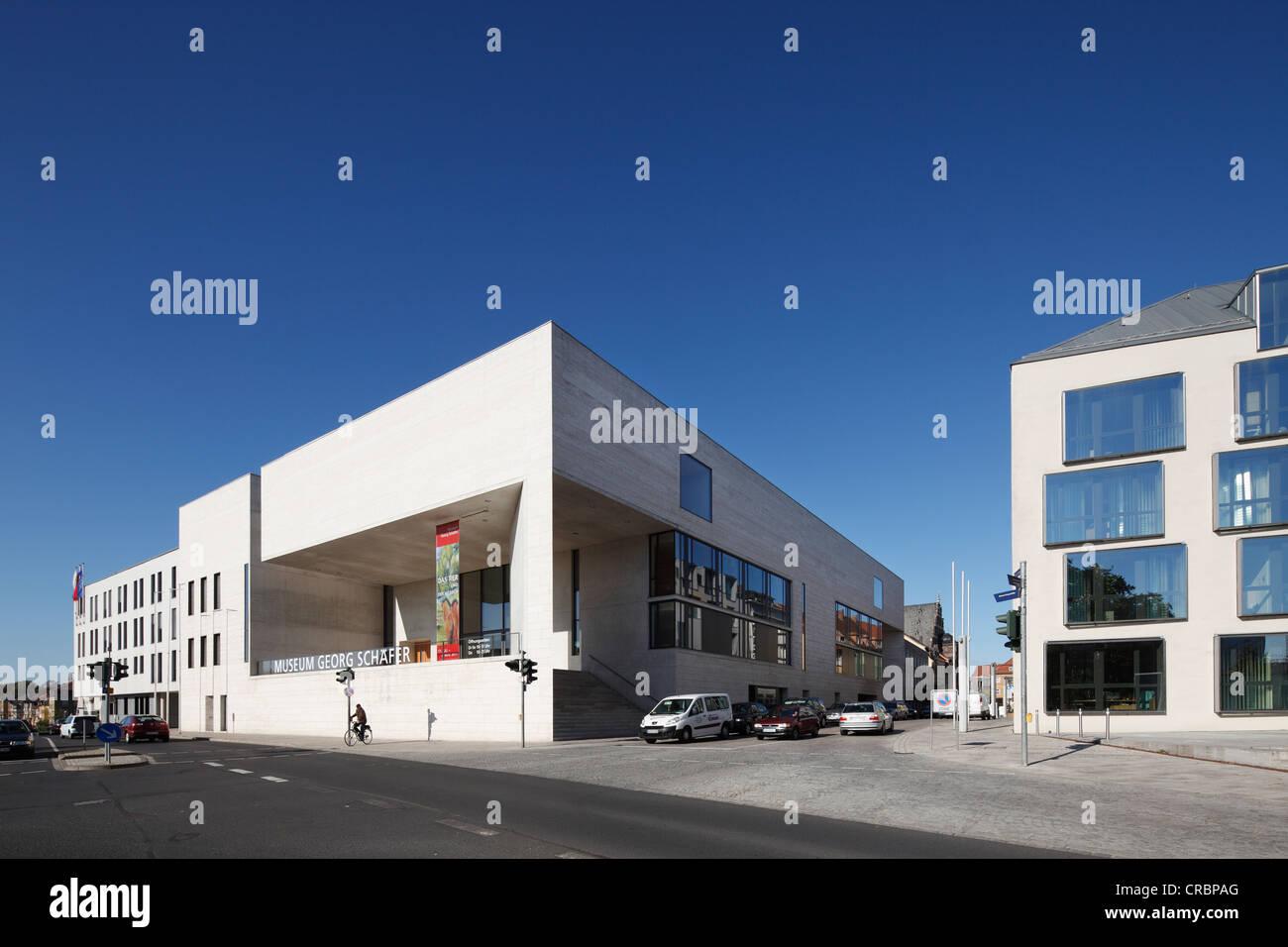 Georg Schaefer Museum, Schweinfurt, Lower Franconia, Franconia, Bavaria, Germany, Europe, PublicGround Stock Photo