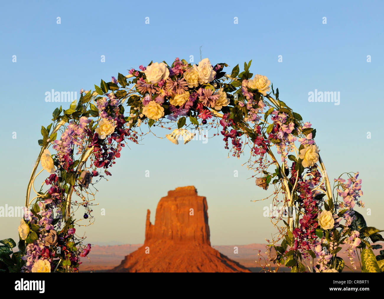Wedding Arch Flowers Decoration In Stock Photos Wedding Arch