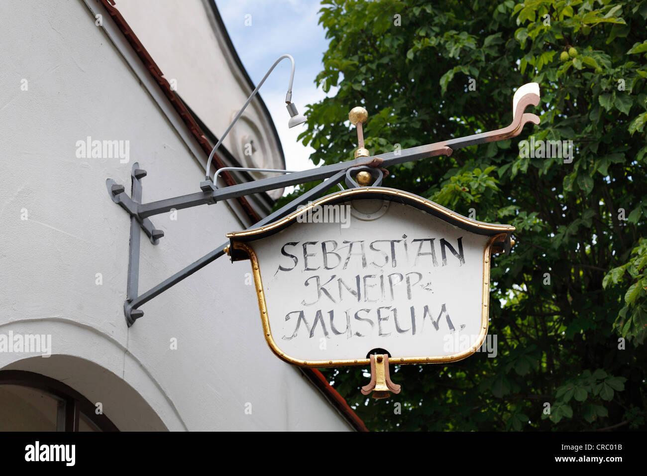Kneipp Museum, Bad Woerishofen, Lower Allgaeu, Allgaeu, Swabia, Bavaria, Germany, Europe, PublicGround Stock Photo