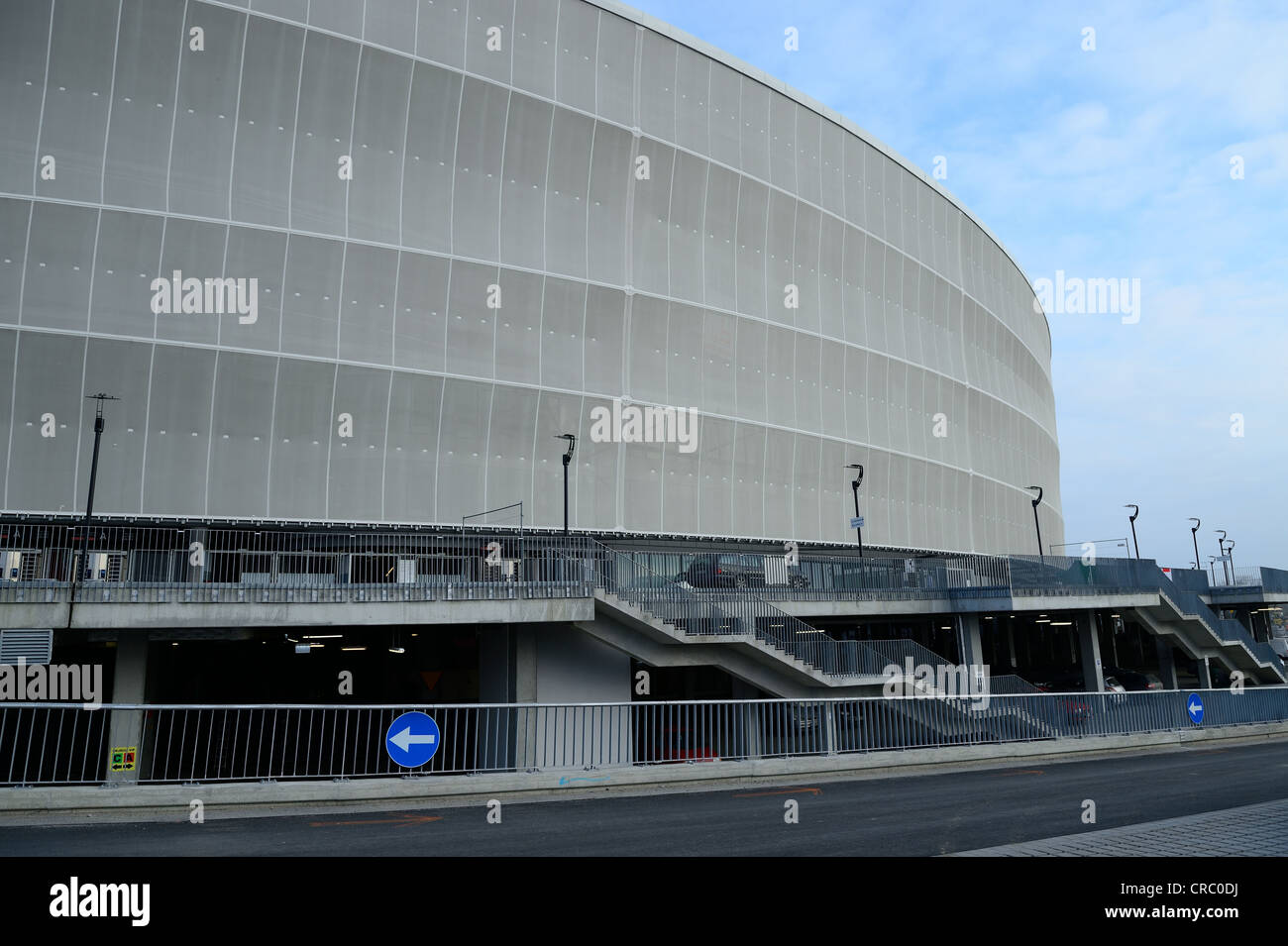 dolnoslaskie, euro 2012, poland, worl cup, uefa, wroclaw, poland, football, games,  Venue, City, Sport, Horizontal, - Stock Image