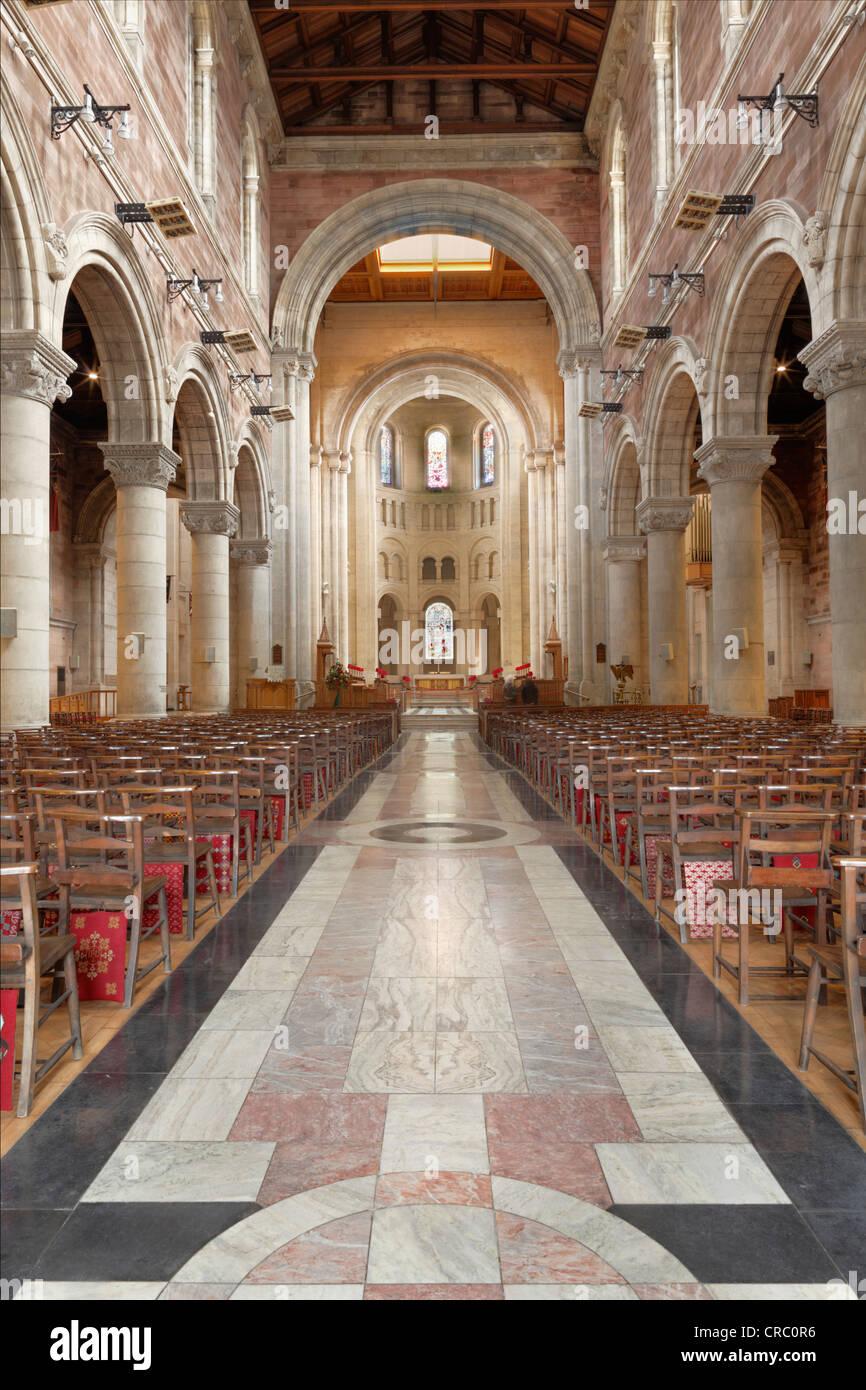 St. Anne's Cathedral, Belfast, Northern Ireland, Ireland, Great Britain, Europe - Stock Image