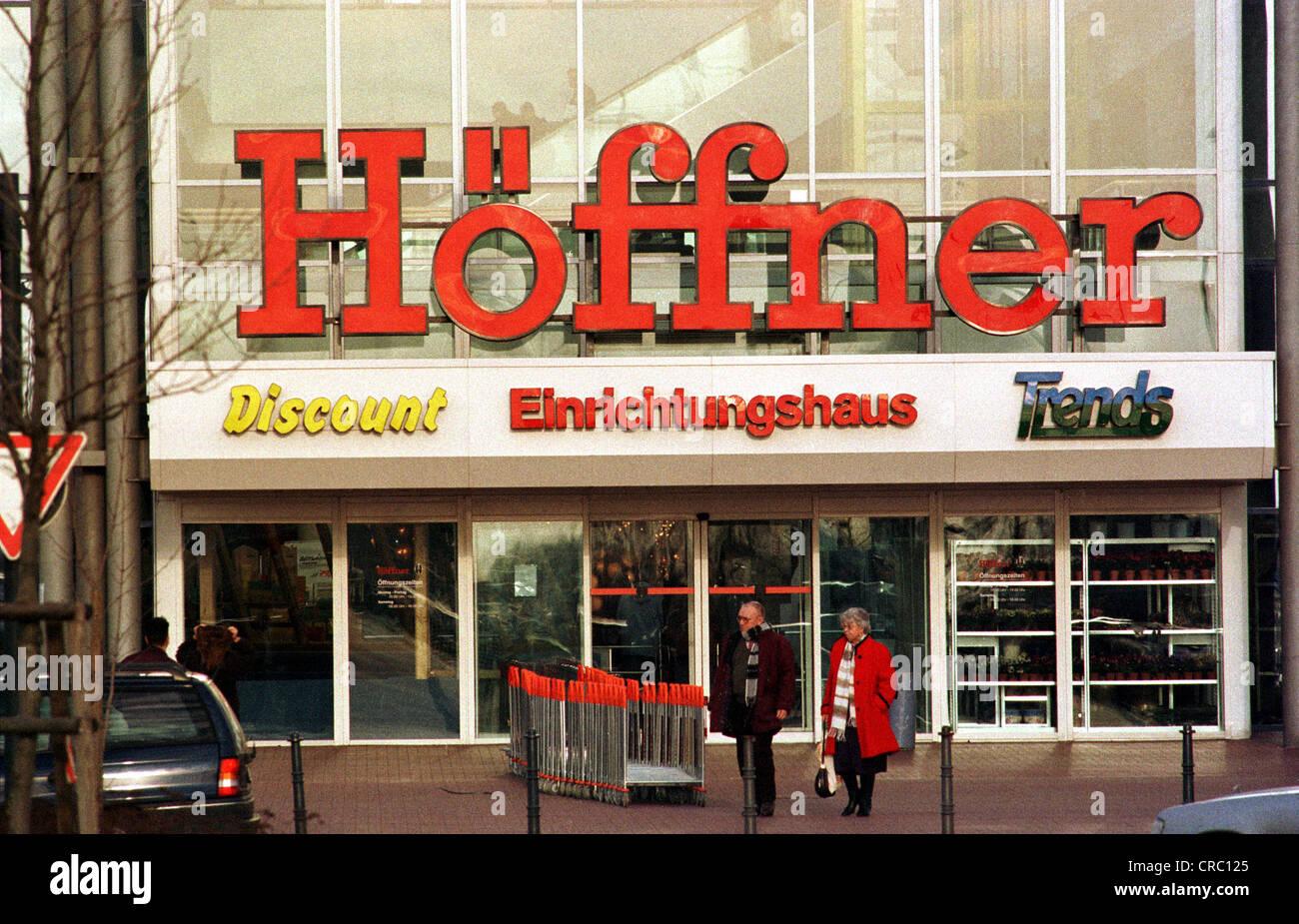 Furniture Store Hoeffner Stock Photos Furniture Store Hoeffner