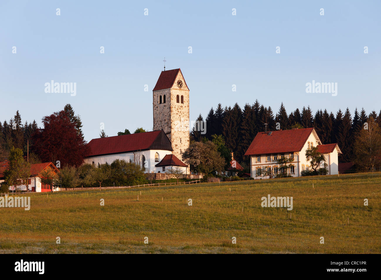 Rechtis, Weitnau community, Upper Allgaeu, Allgaeu, Swabia, Bavaria, Germany, Europe, PublicGround - Stock Image